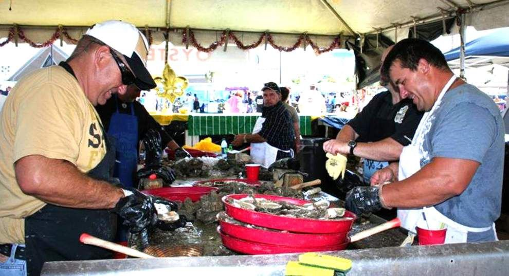Parish Lines: Festival puts oysters in spotlight _lowres