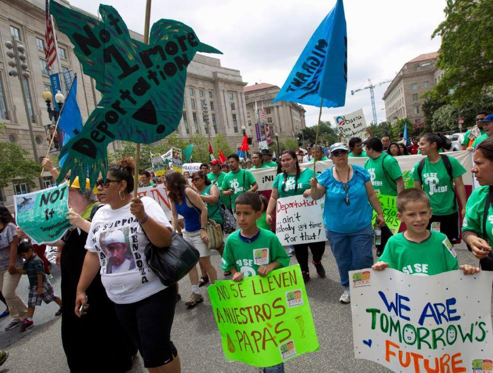 White House preps legal case for immigration steps _lowres
