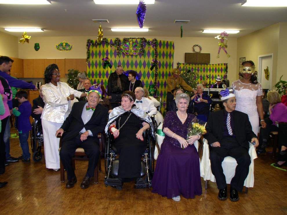 Gonzales Healthcare Center celebrates Mardi Gras _lowres