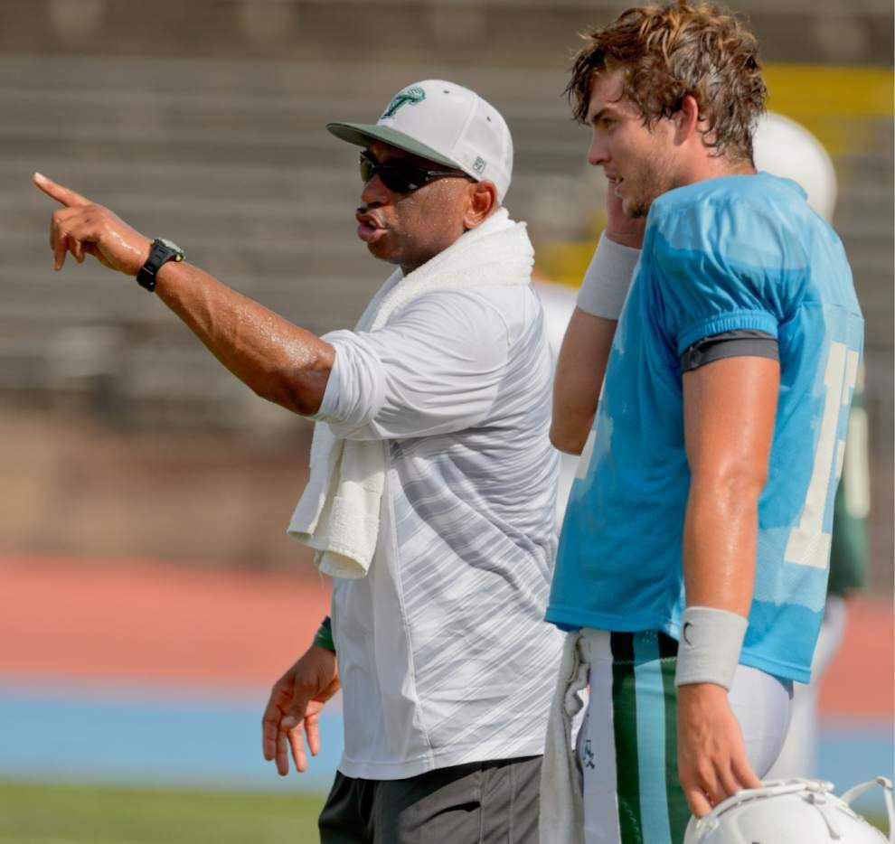 Tulane coach Curtis Johnson impressed with quarterback Tanner Lee's maturity, toughness _lowres