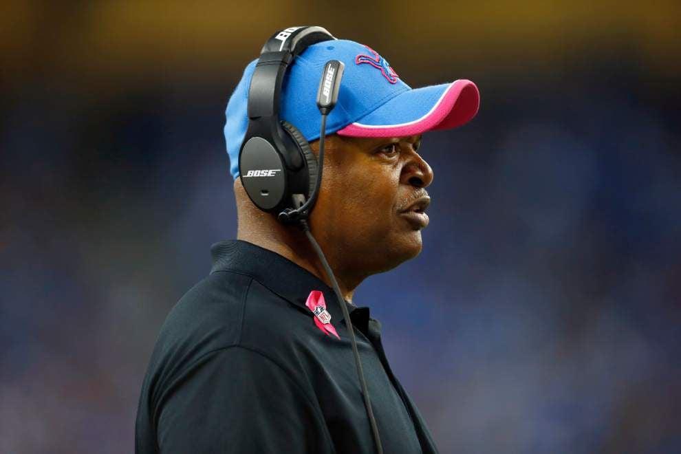 Detroit coach Jim Caldwell says hiring ex-Saints coach Joe Lombardi was a no-brainer _lowres