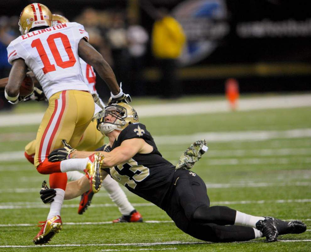 Black & Gold blog: Saints safety Vinnie Sunseri goes on IR _lowres