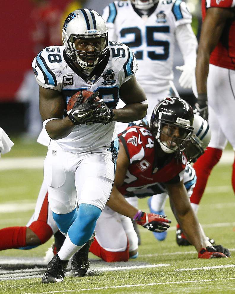 Panthers crush Falcons 34-3, roll into playoffs _lowres