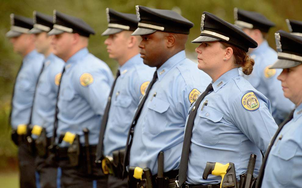 New Orleans Police Department academy graduates 29 _lowres