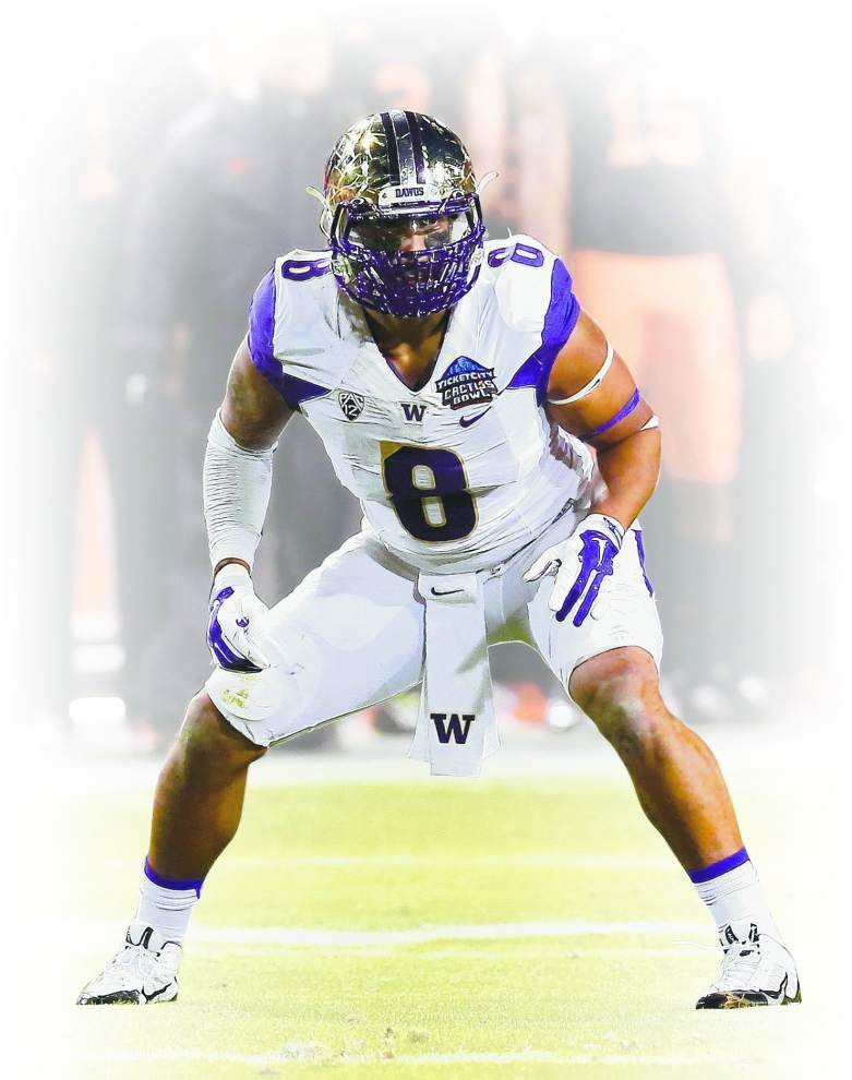 Saints rookie film review: Hau'oli Kikaha should bring some violent intentions to the New Orleans defense _lowres