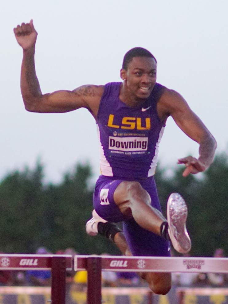 Tigers gets off to fast start in SEC track and field meet _lowres