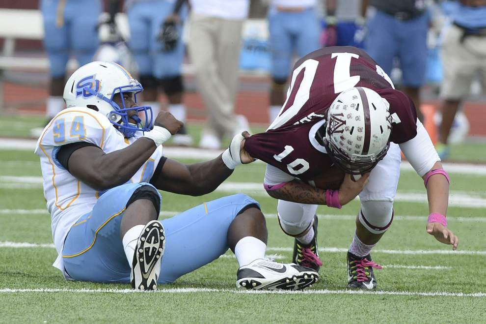 Southern defense regroups, dominates second half at Alabama A&M _lowres