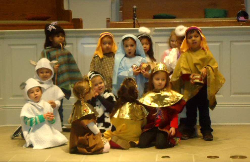 Parkway Presbyterian preschoolers present Nativity _lowres