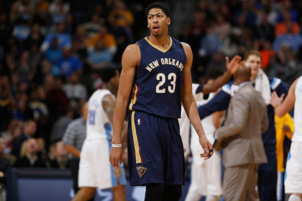 Pelicans forward Anthony Davis will be on the cover of this week's Sports Illustrated _lowres
