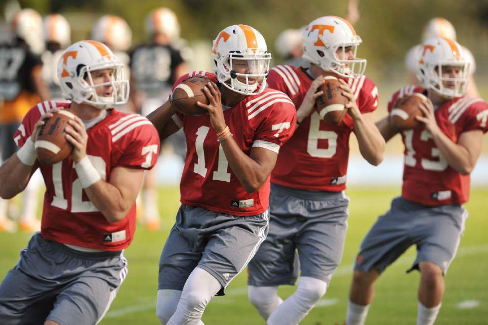 Tennessee's Josh Dobbs presents problems for Iowa _lowres