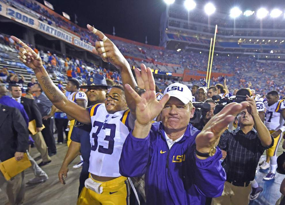 Live updates: LSU coach Les Miles' press conference previewing Saturday's game vs. Alabama _lowres