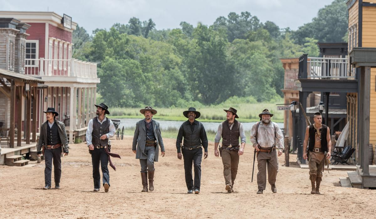 The Magnificent Seven group shot 2