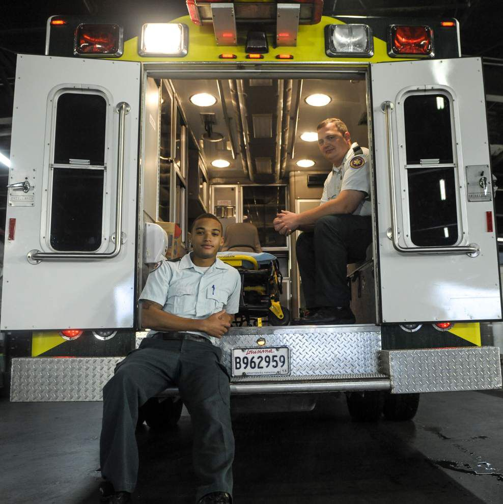 Paramedic has a brush with danger as stroke hits on the job _lowres