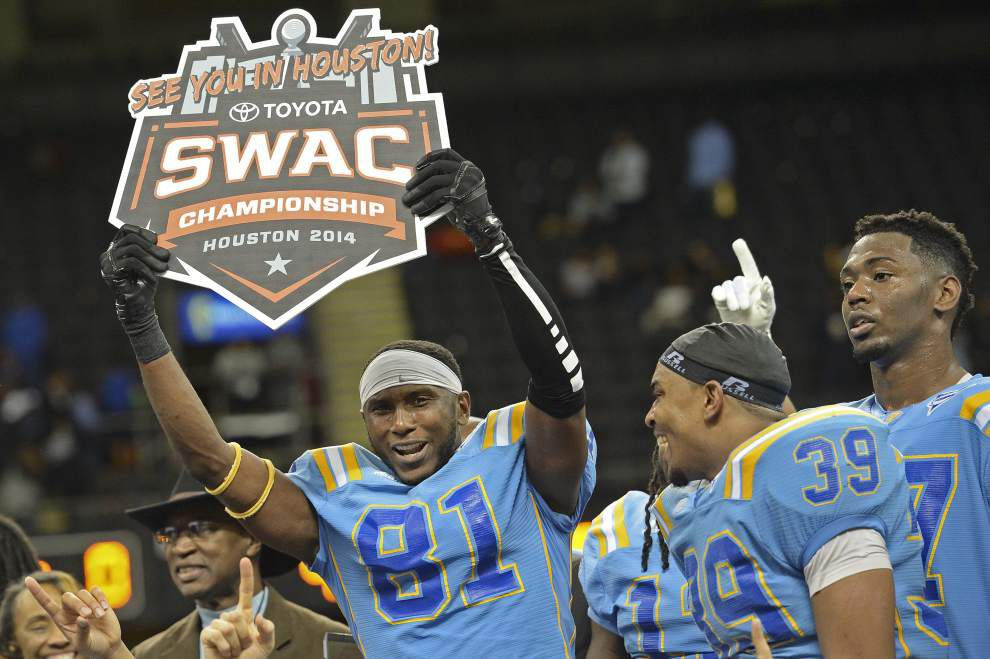 Video: Southern's feast or famine defense comes up big in the last play of Bayou Classic _lowres