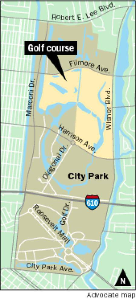 Planned City Park golf course faces challenge in federal court _lowres