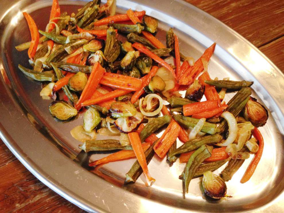 Eat Your Vegetables: Roasted vegetables an easy appetizer _lowres