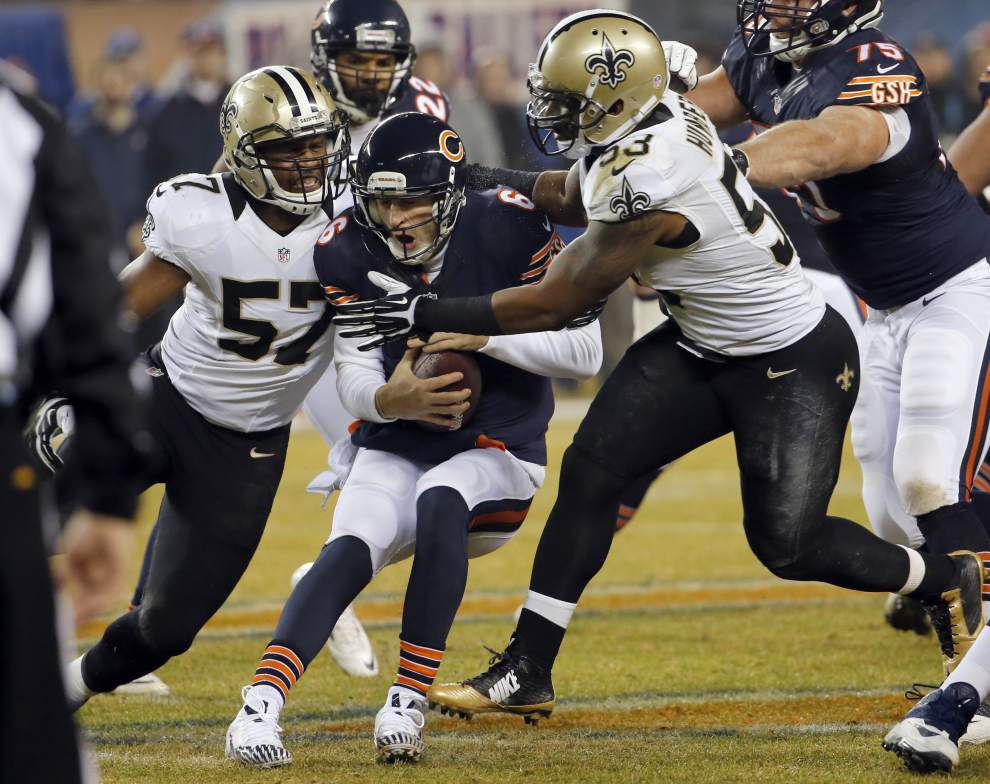 The Saints grade out well in win against Chicago, but the troubled Bears made some things easy _lowres
