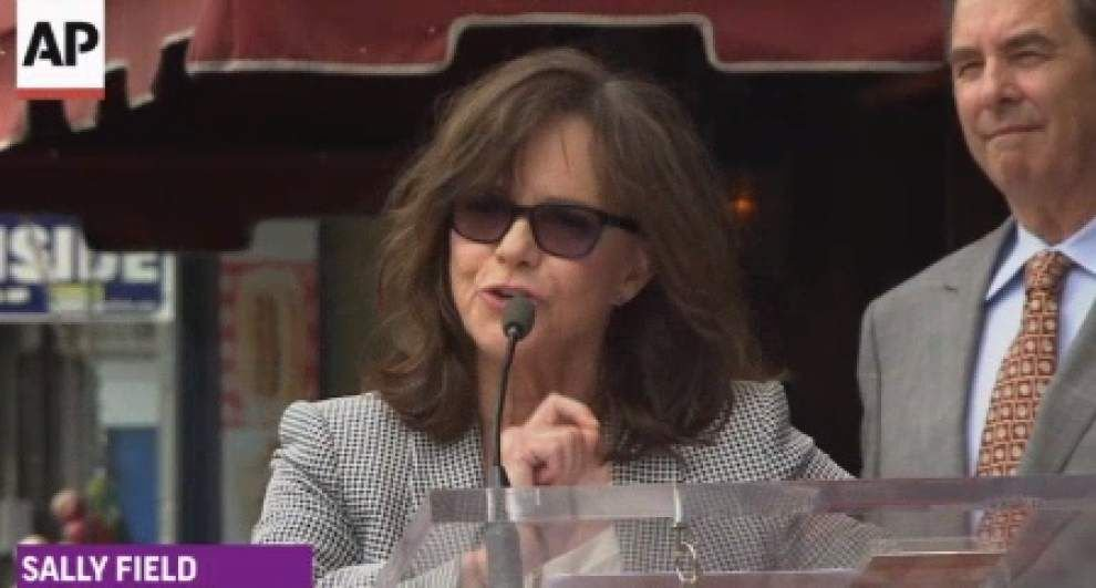 Sally Field celebrates Walk of Fame star _lowres