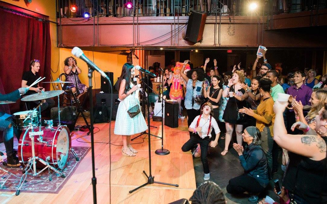 Music and drag performances at 'Women Performing for Women' to benefit shelter Hagar's House
