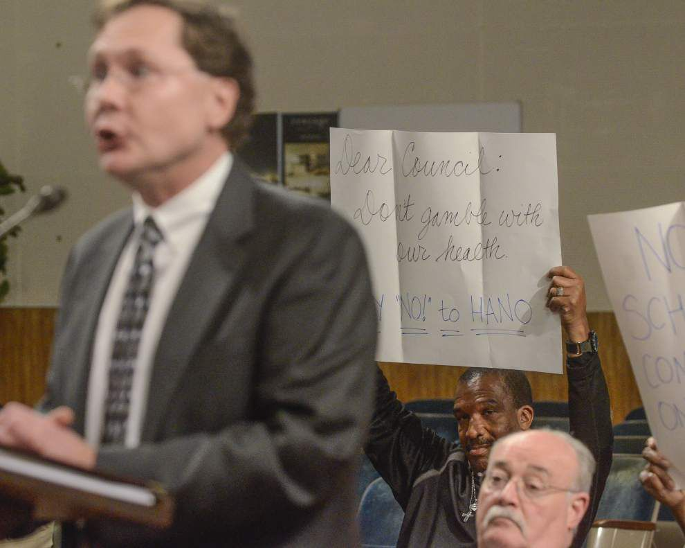New Orleans City Council approves building community center on Earhart despite soil concerns _lowres