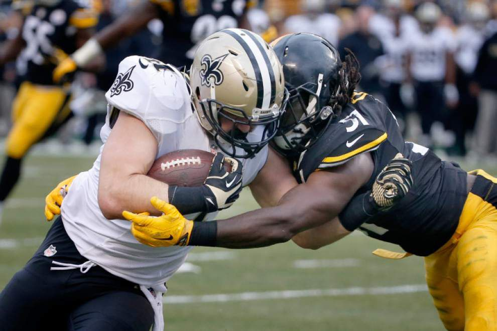 Saints get scoring contributions from unlikely cast of players in win over Steelers _lowres