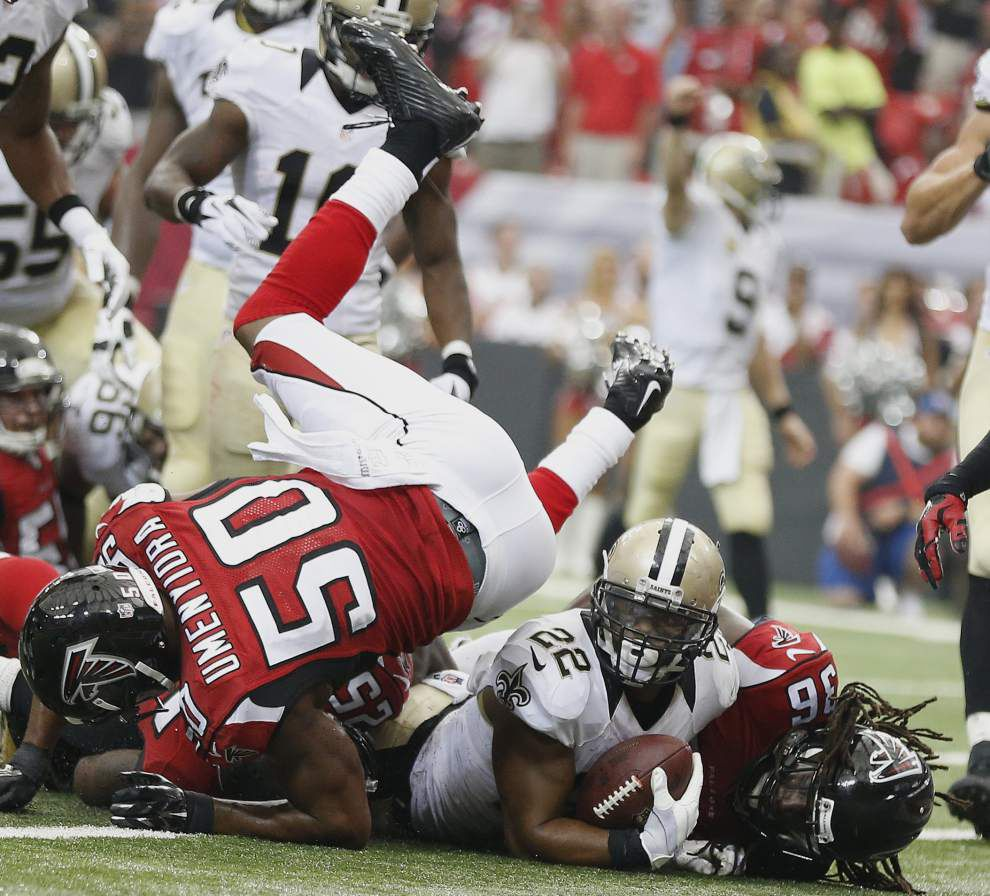 Saints running back Mark Ingram says he should be back for the Detroit game on Oct. 19 _lowres