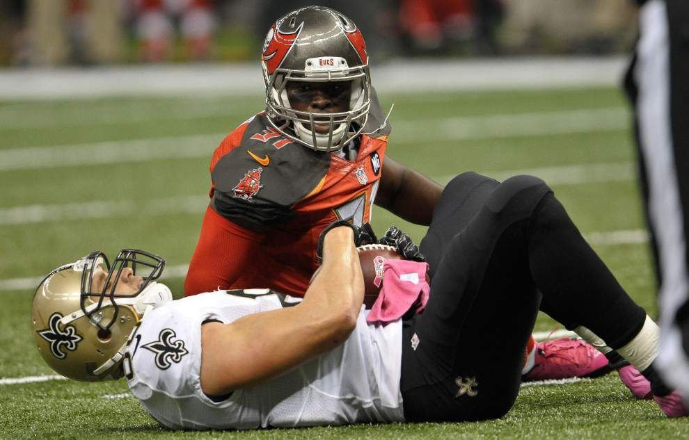 Saints coach Sean Payton is optimistic that tight end Jimmy Graham will play against Detroit _lowres