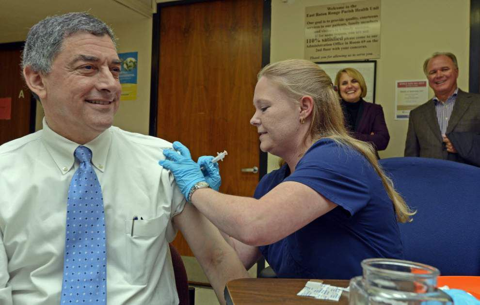 La. health department encouraging people to get a flu shot _lowres