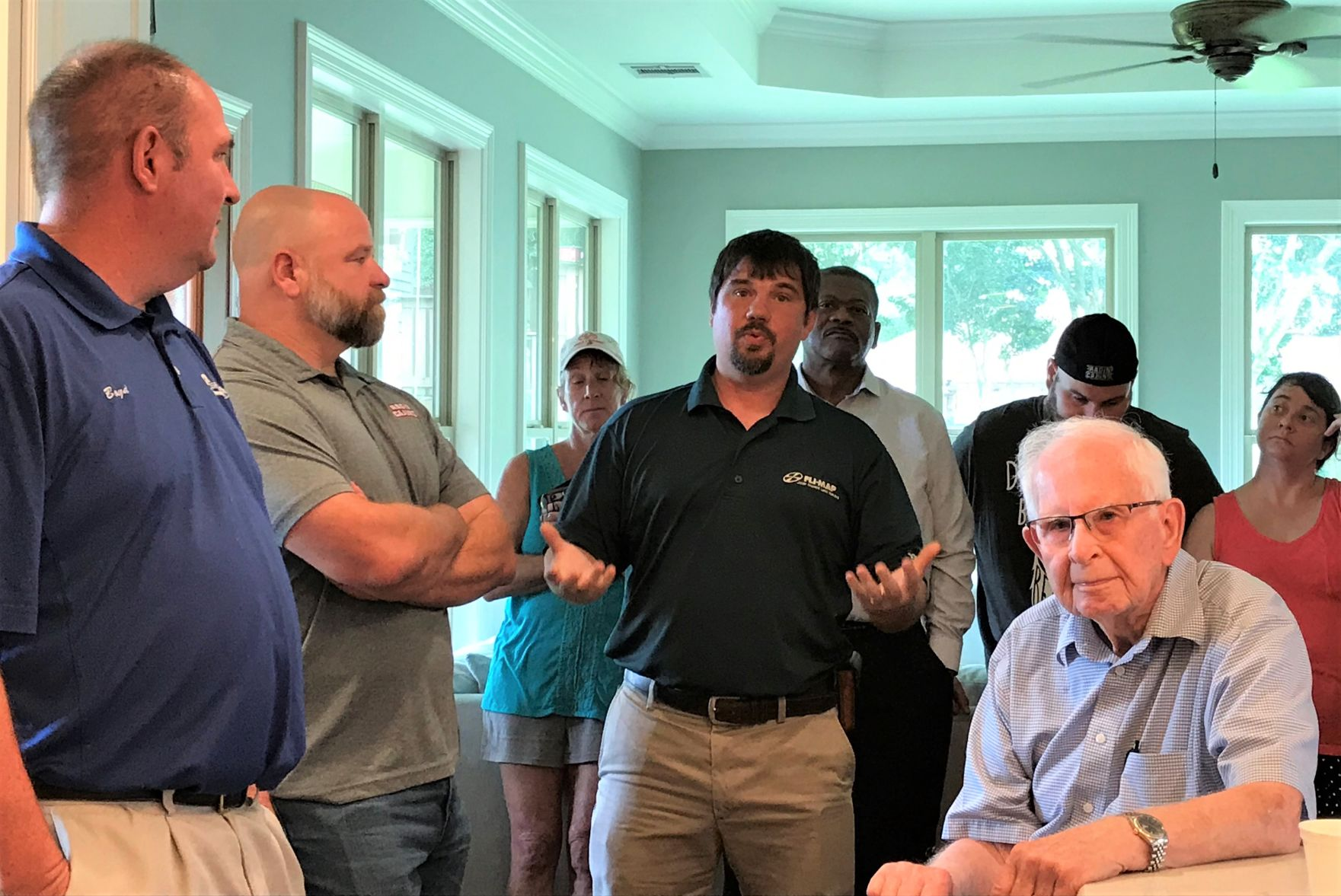 Lafayette residents press officials for quick drainage improvements