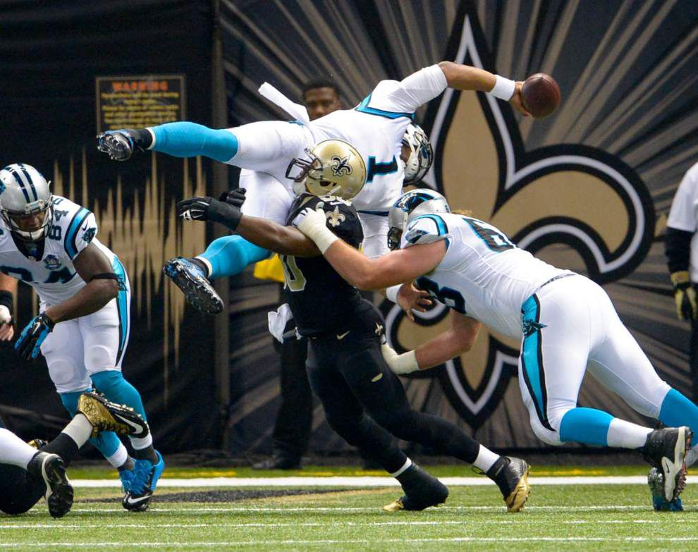Rabalais: Exposed in their own home, the problems clearly run deep for these Saints _lowres