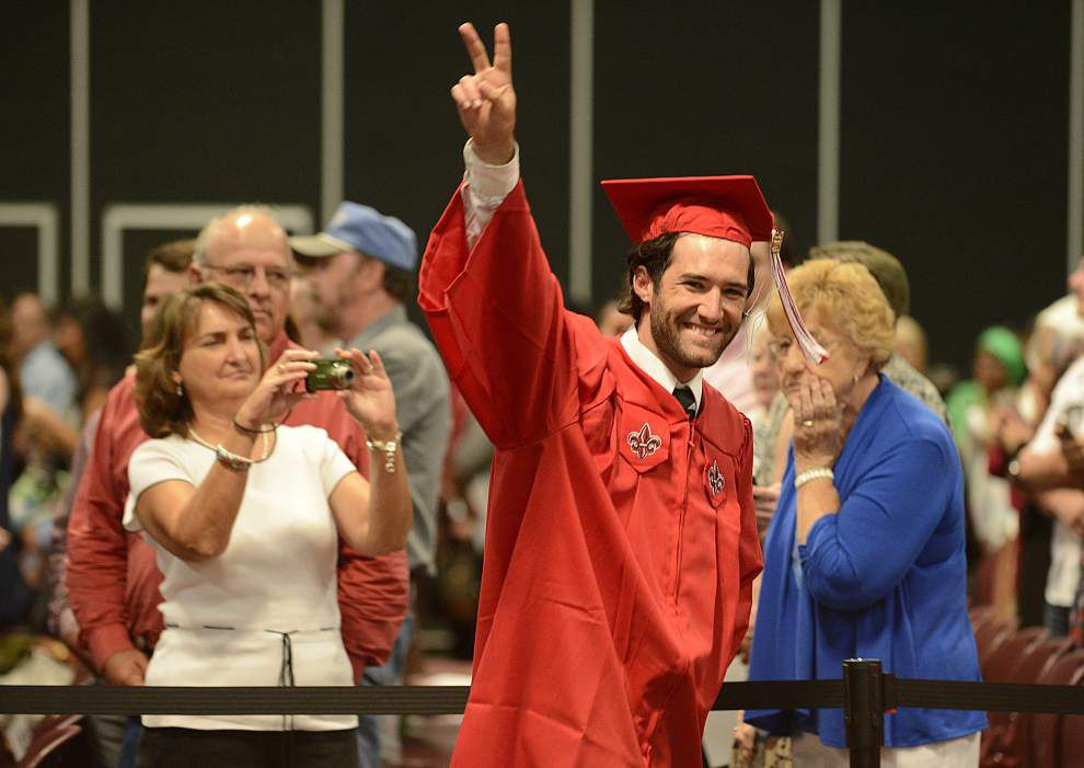 UL-Lafayette awards degrees to 162 at summer commencement _lowres