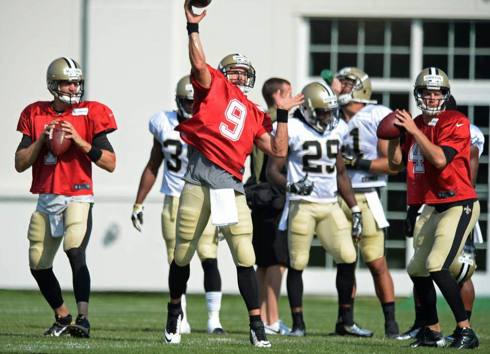 Photos: Saints complete first week of training camp _lowres