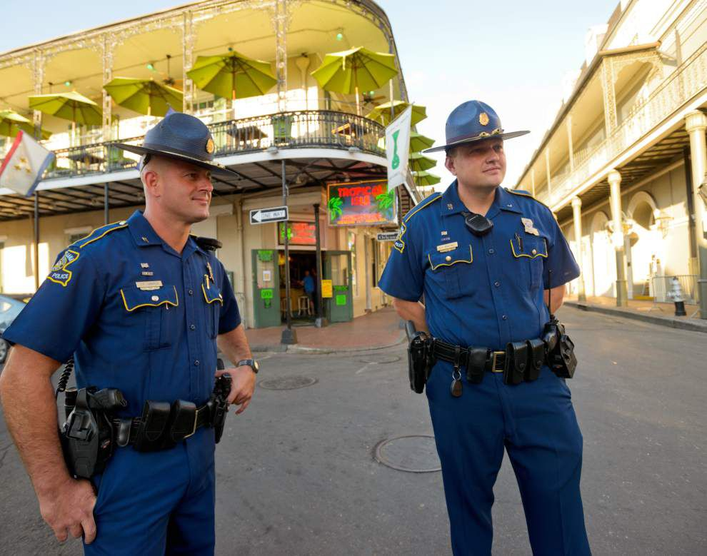 Louisiana State Police to leave New Orleans on Monday despite Mayor Mitch Landrieu's plea _lowres