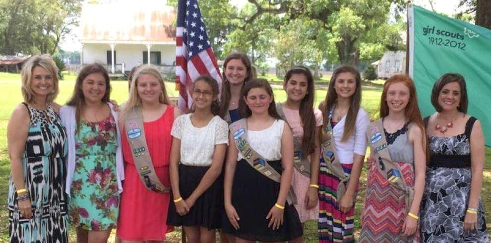 River Ridge Girl Scouts earn Silver Awards for leadership and service _lowres