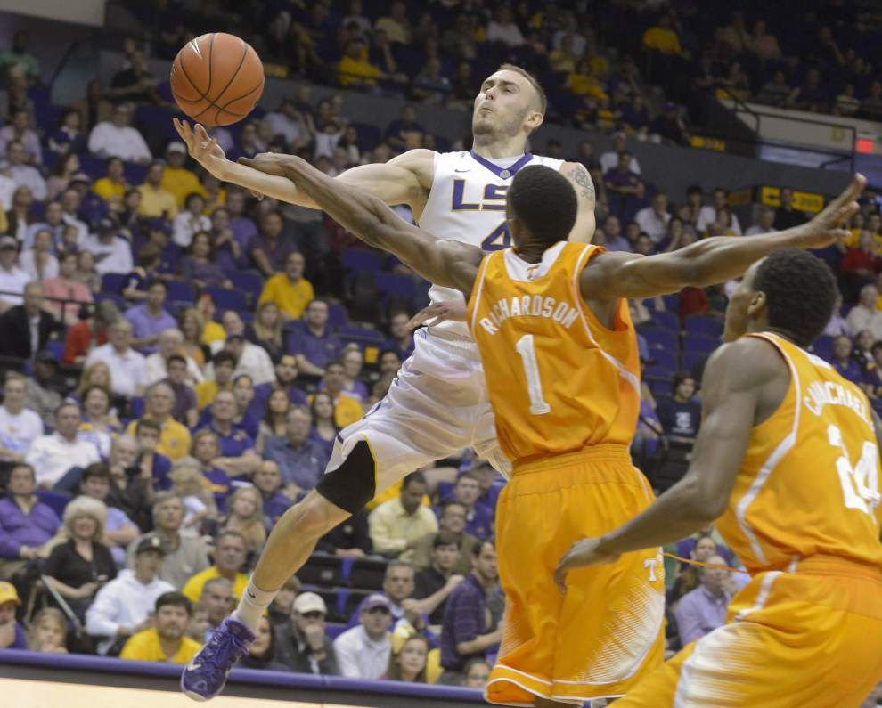 Video: LSU's Keith Horsnby talks about his game-winning 3-pointer against Arkansas _lowres