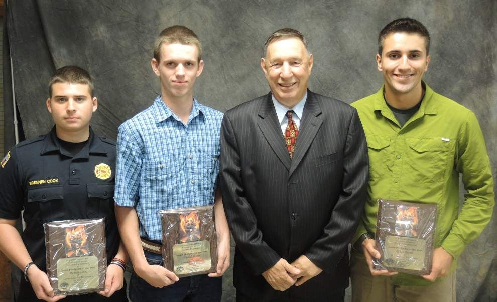 Firefighters honored at annual banquet _lowres
