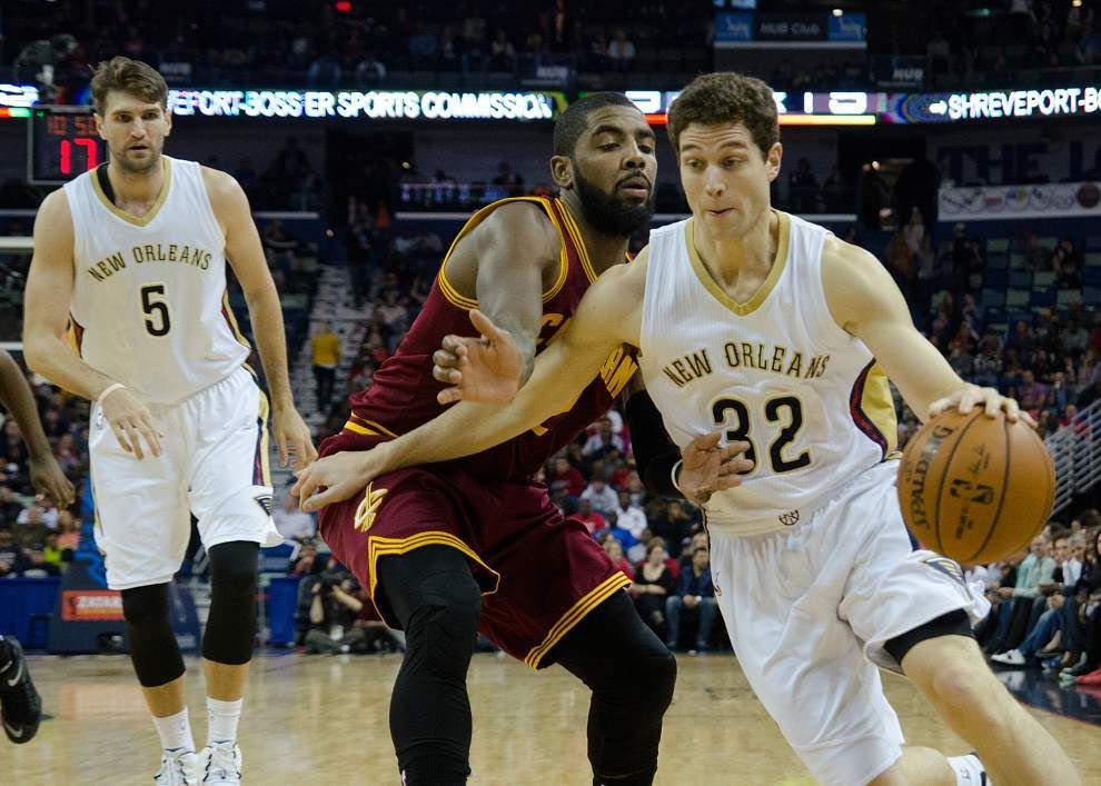 Lewis: Pelicans win convincingly despite LeBron's big night _lowres