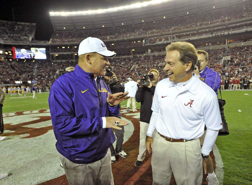 Alabama, LSU elect new Student Government officials; Nick Saban somehow finishes third in Crimson Tide's race _lowres