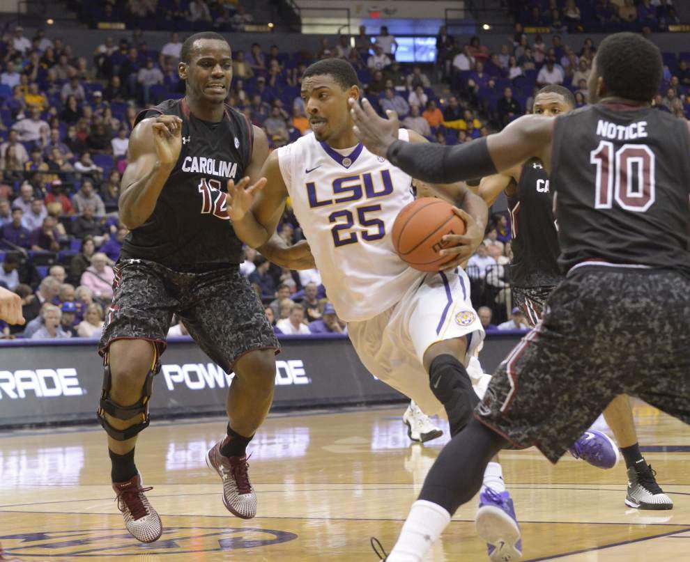 Tigers top Gamecocks in see-saw affair _lowres