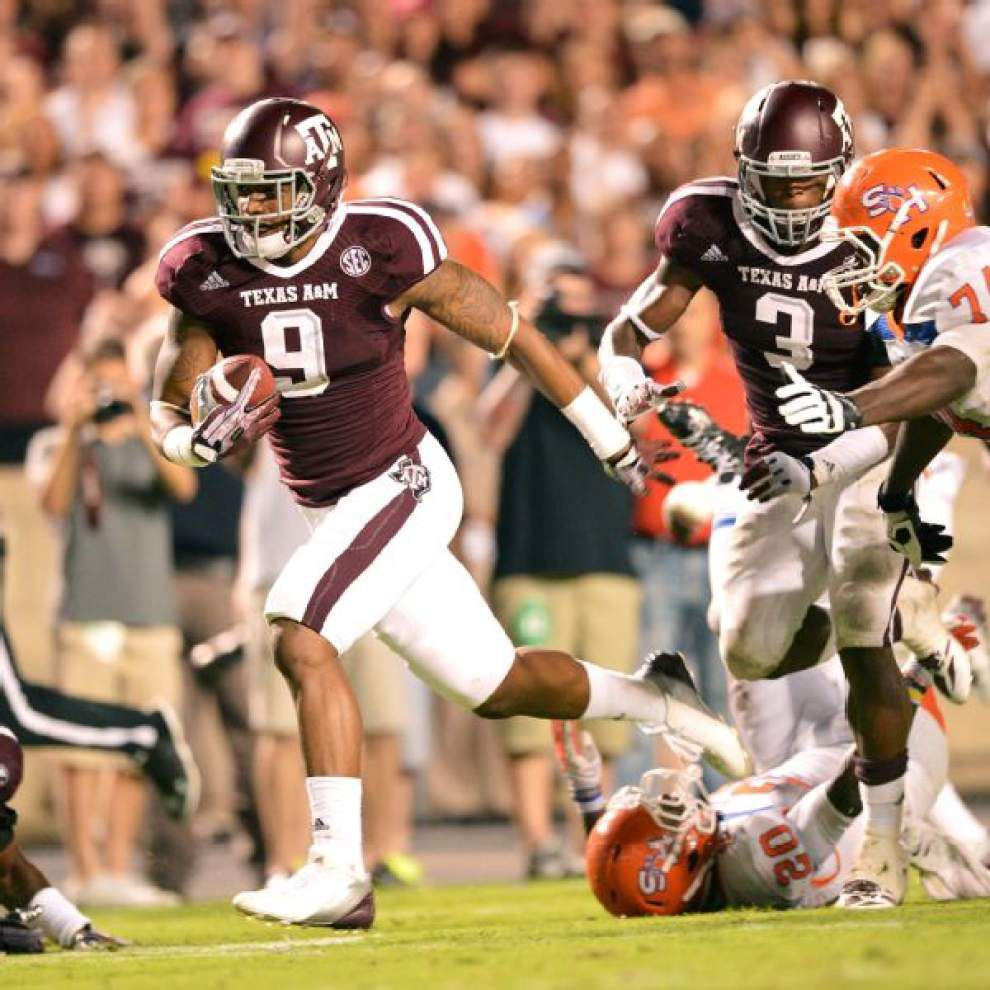 Texas A&M LB says Saints fans may want to watch him in NFL draft _lowres
