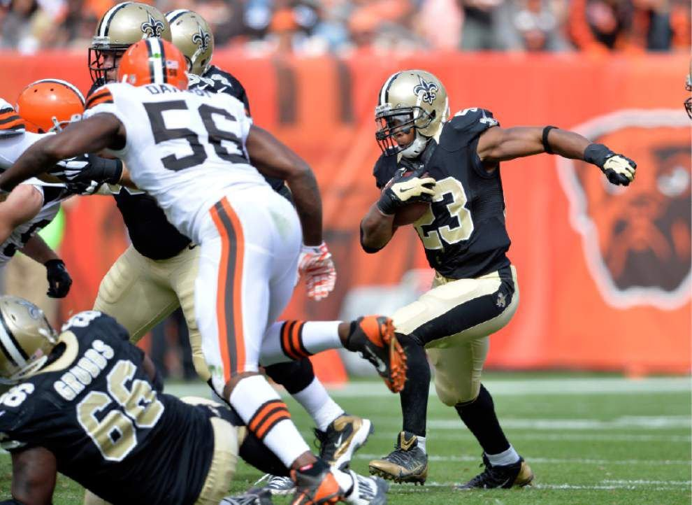 Video: Saints running back Pierre Thomas expects more touches with Mark Ingram injured _lowres