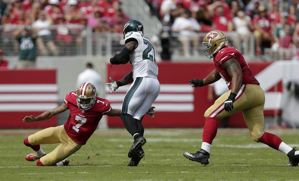 Former Saints Roman Harper and Malcolm Jenkins each have more interceptions than the Saints' defense _lowres