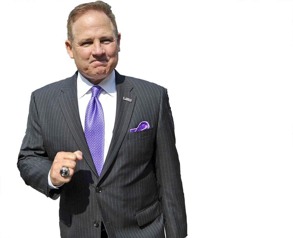 Numbers add up for Les Miles _lowres