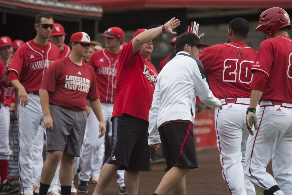 Ragin' Cajuns baseball team looks to get back on track at Georgia State _lowres