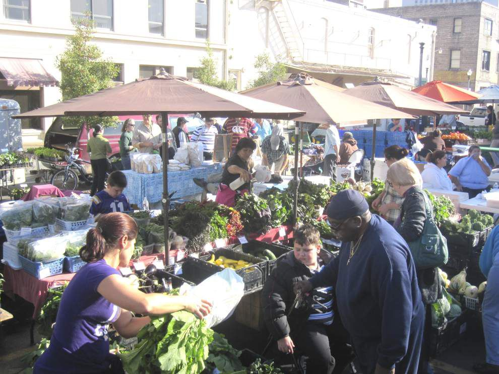 Weekly farmers market coming to French Market _lowres