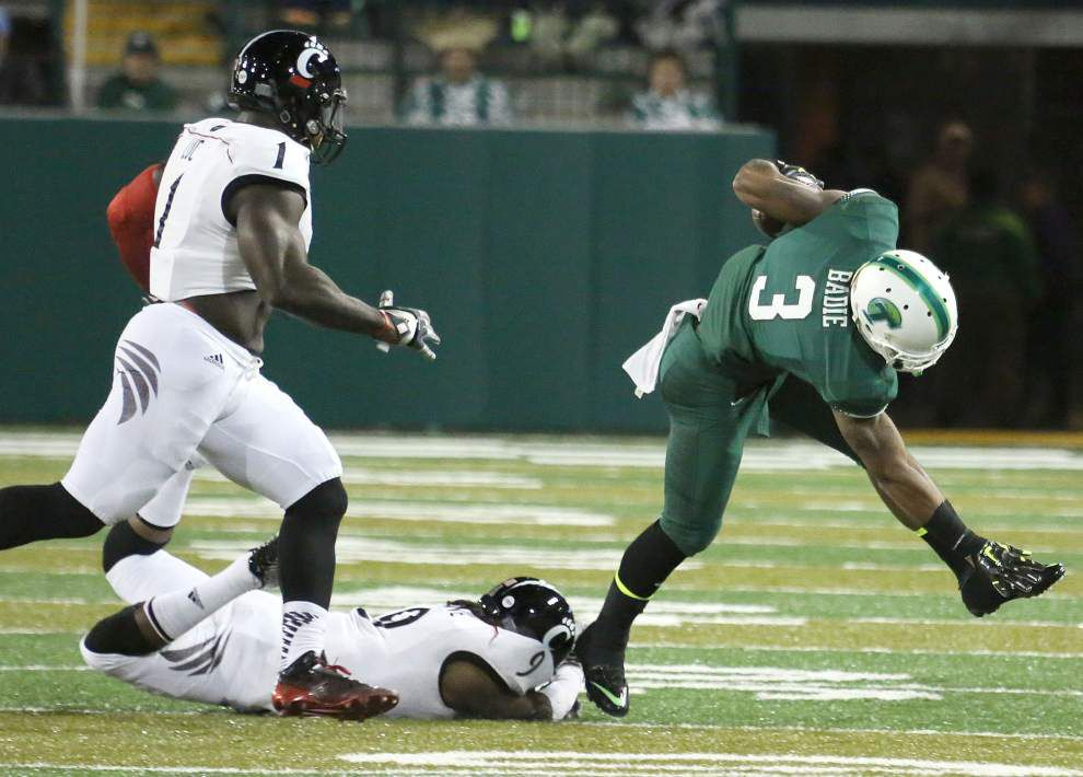 Tulane running backs Sherman Badie, Lazedrick Thompson could miss Houston game _lowres