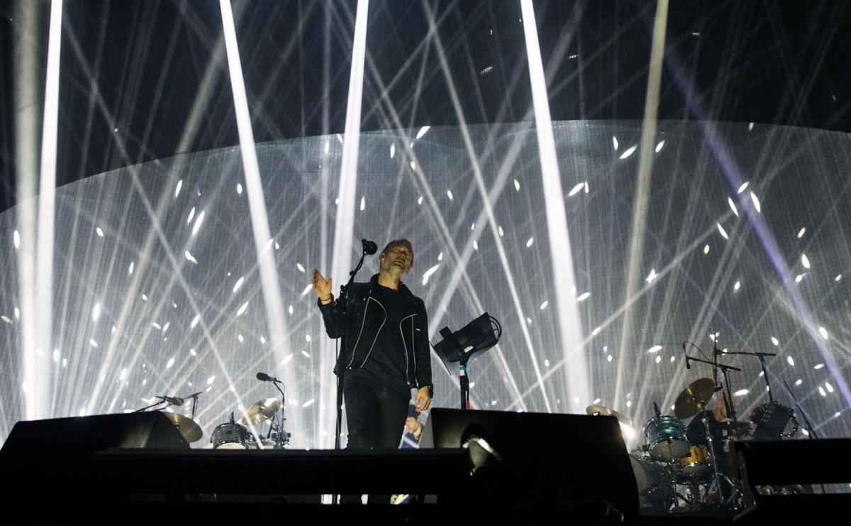 Radiohead Tour New Orleans