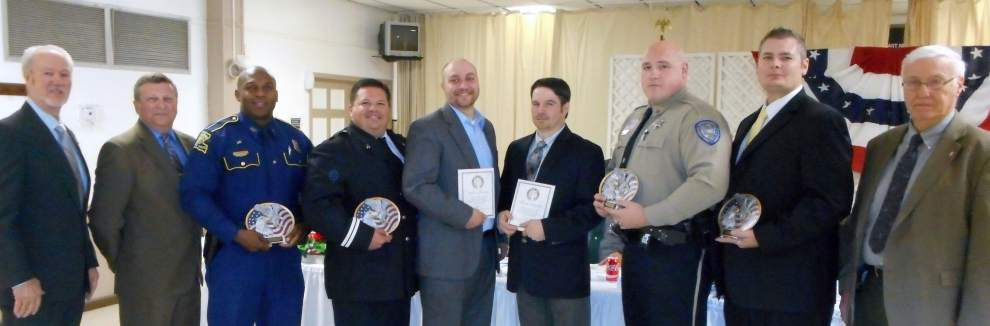 Slidell Elks Lodge 2321 honors achievement in law enforcement _lowres