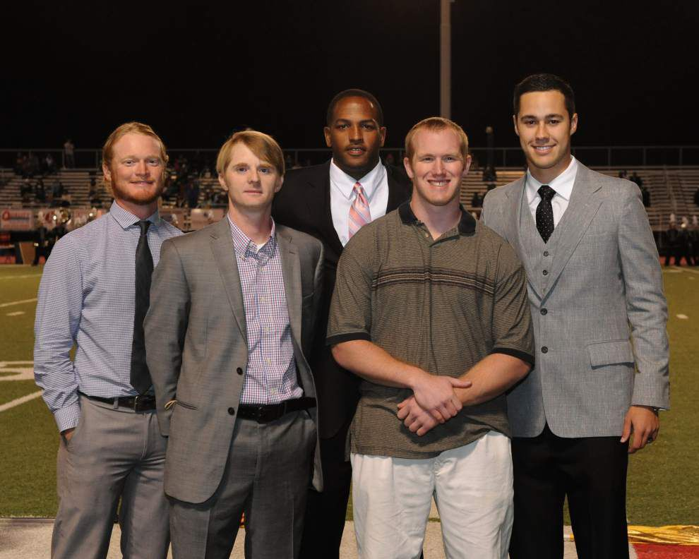 Zachary inducts five into Bronco Hall of Fame _lowres