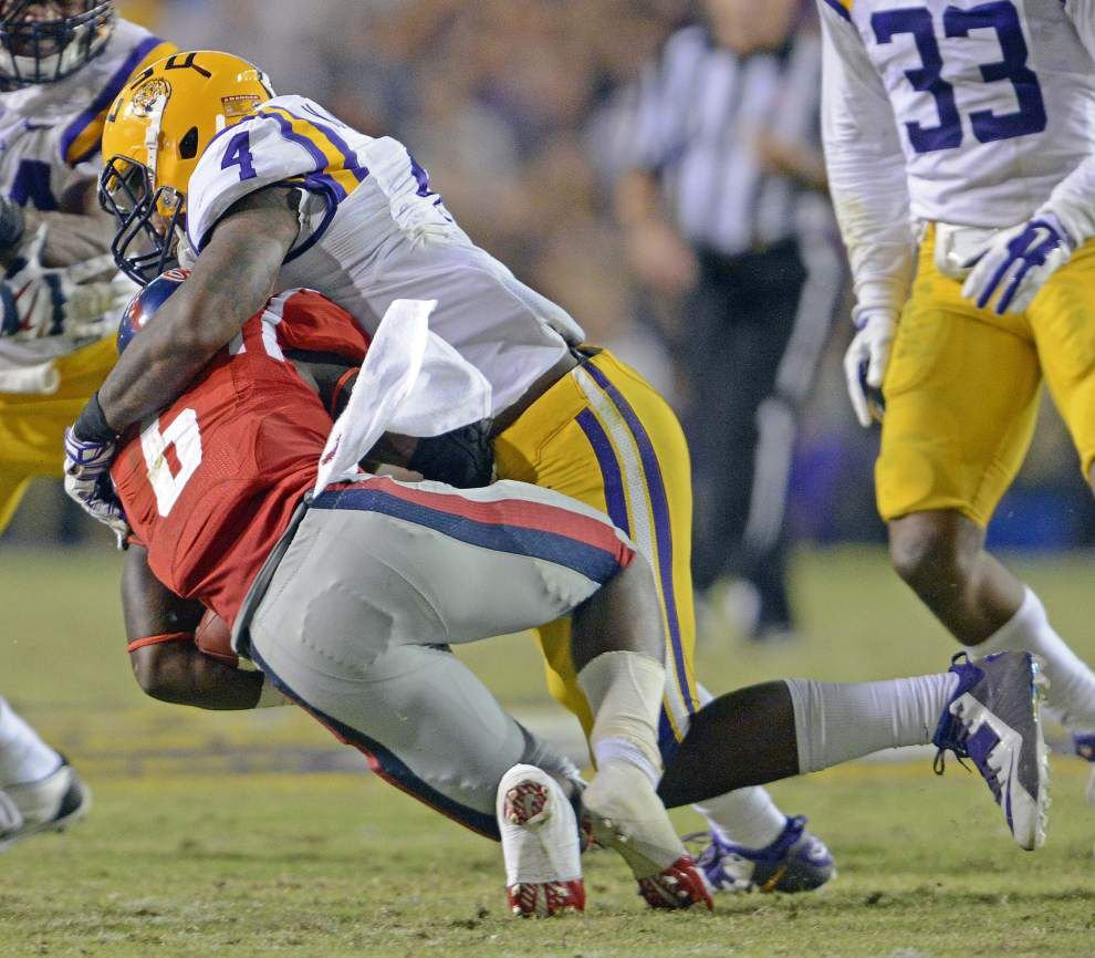 Video: LSU linebacker Kwon Alexander says hearing stuff from Alabama fans when he returns home is nothing new _lowres